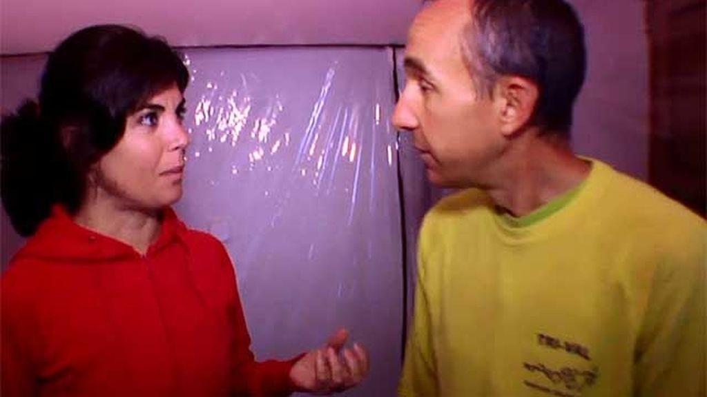 David utiliza la cámara de hipoxia tras el largo y duro entrenamiento