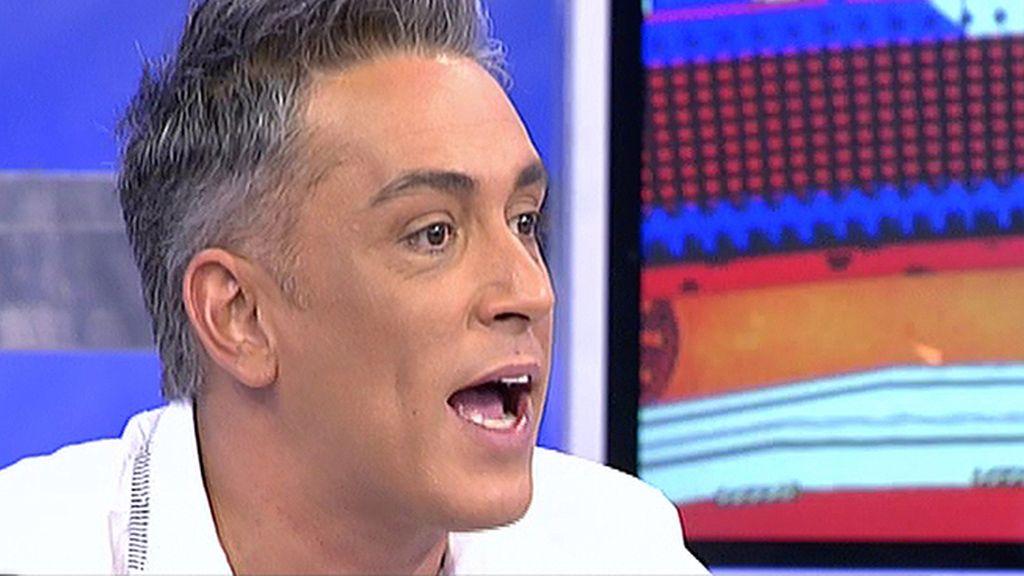 """Kiko Hernández: """"Desde aquí, anulo el matrimonio de Borja y Chiqui"""""""