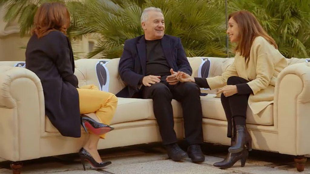 """Ana Belén: """"¡Cuántas alegrías me ha dado 'el hombre del piano'!"""""""