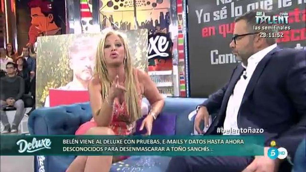 """Belén Esteban: """"He tapado a Toño Sanchís cosas que no debí haber tapado"""""""