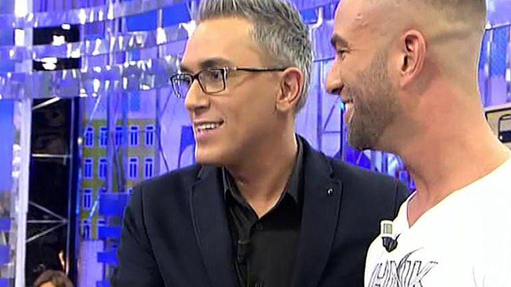 "Sandro, sobre Kiko: ""Hacemos buena pareja"""
