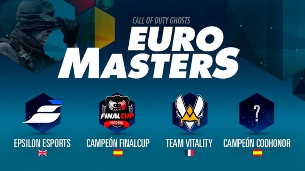 Cuatro de los mejores equipos de Europa se enfrentan en la Euro Masters Cup