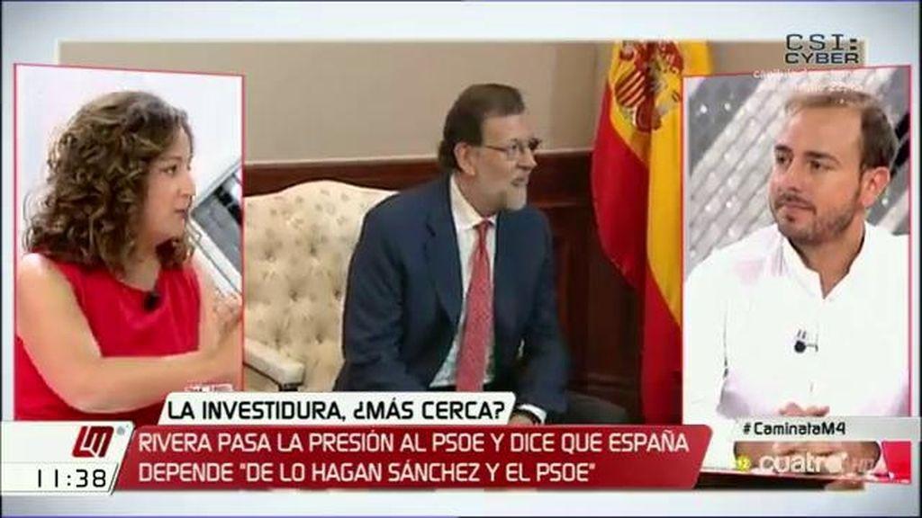 """I.García (PSOE): """"Estamos en las antípodas de lo que representa el gobierno del PP"""""""