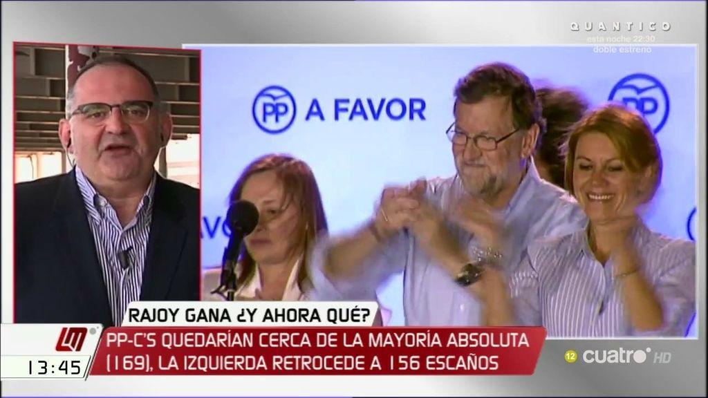 """Antón Losada, de Mariano Rajoy: """"Tiene que sentarse a esperar que la presión doblegue"""""""