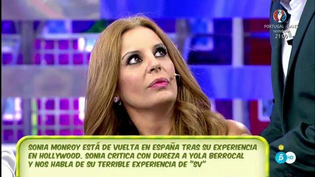 """Sonia Monroy, sobre Yola Berrocal: """"No es tonta, es muy torpe"""""""