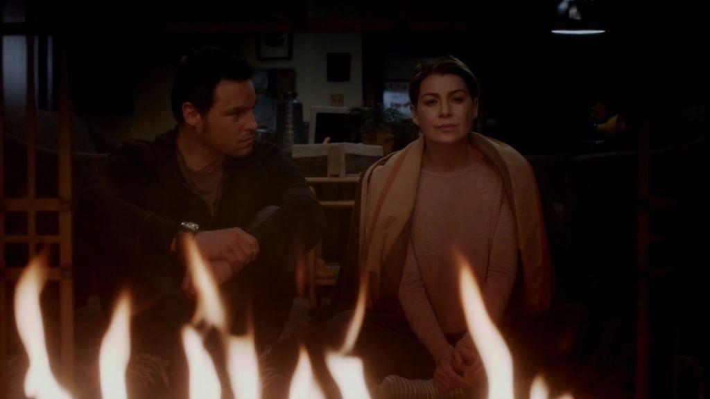 Meredith quema el último recuerdo de Derek
