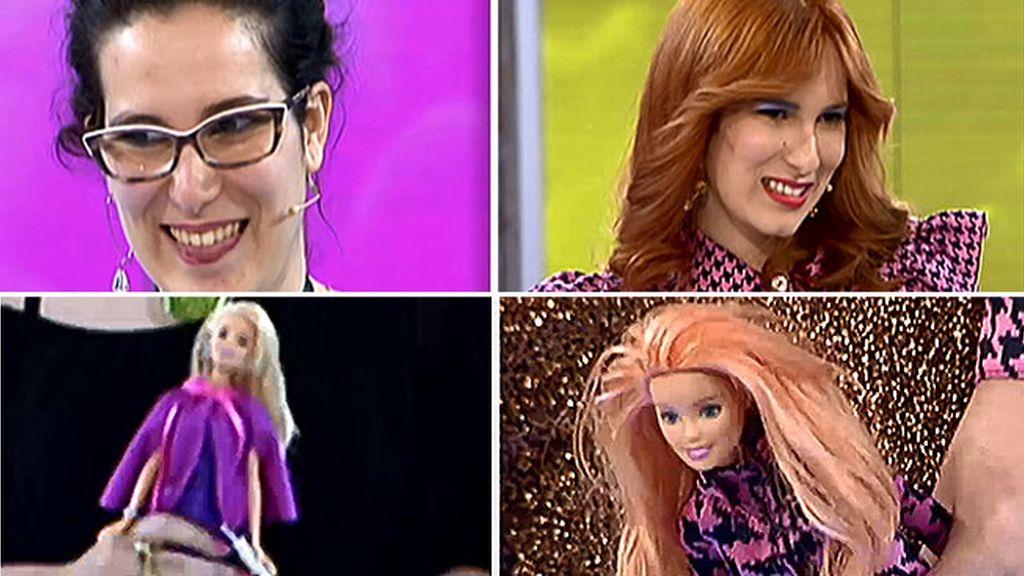 Cambio 2x1: Marta 'La Moño' vuelve a recuperar su esencia y su Barbie también