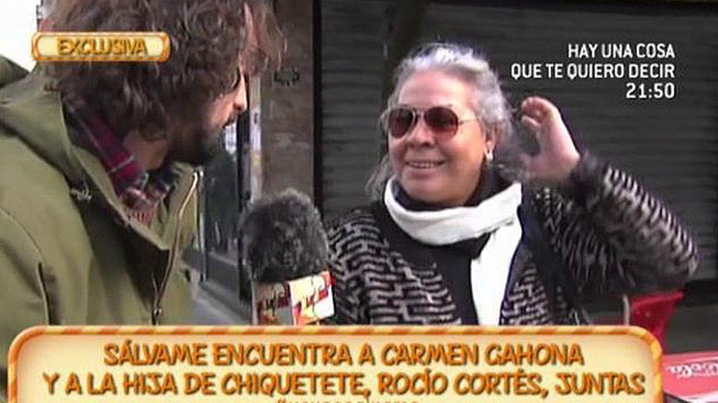 """Carmen Gahona: """"Raquel Bollo chantajea emocionalmente a sus compañeros"""""""