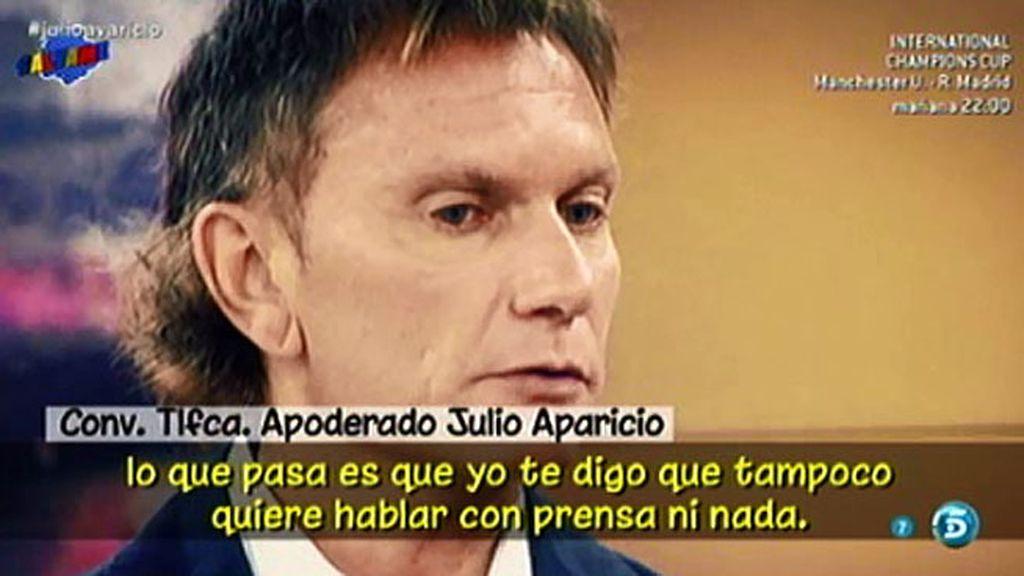 """El bando de Julio Aparicio se pronuncia contra Pilar: """"Es ella la que está enferma"""""""