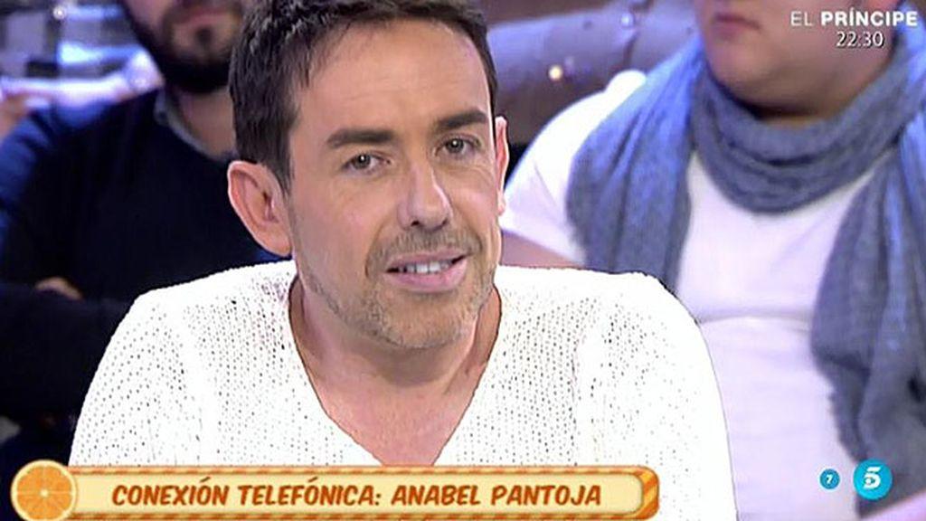 """Jesús Manuel, a Anabel: """"Aquí se ha dicho lo más grande de tu tía y no has dicho nada"""""""