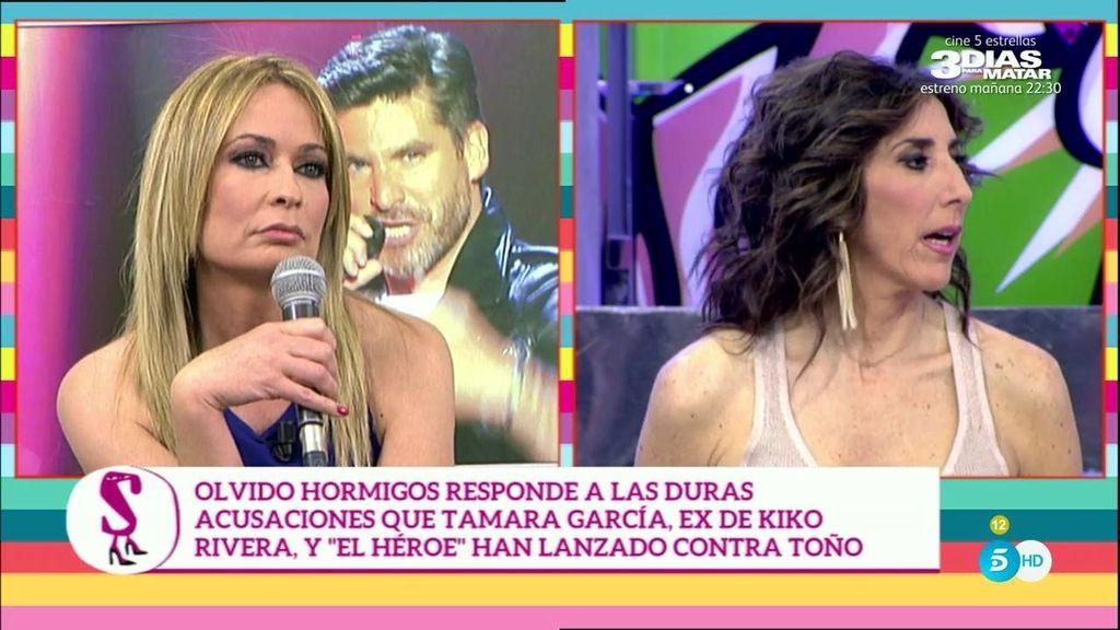 """Olvido Hormigos: """"Toño Sanchís va a demandar a Tamara García"""""""
