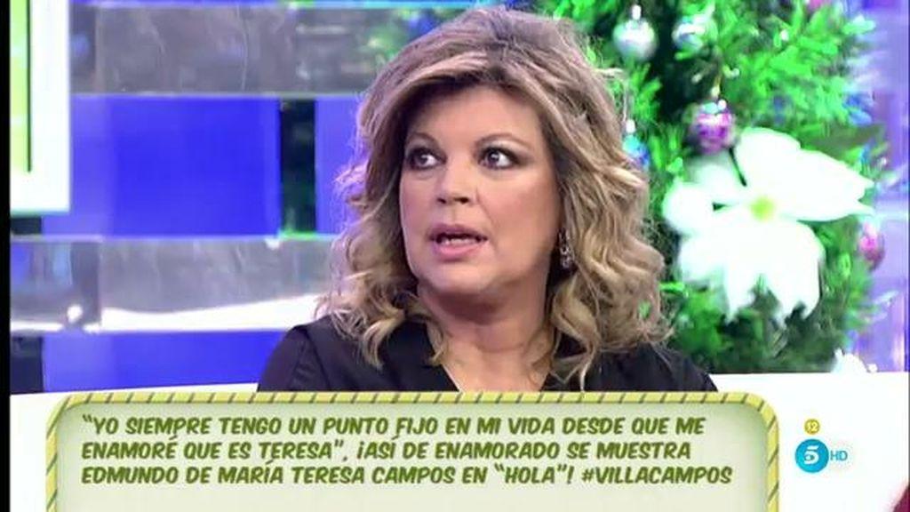 "Terelu, de Mª Teresa: ""Ningún hombre la ha acompañado tanto como Edmundo"""