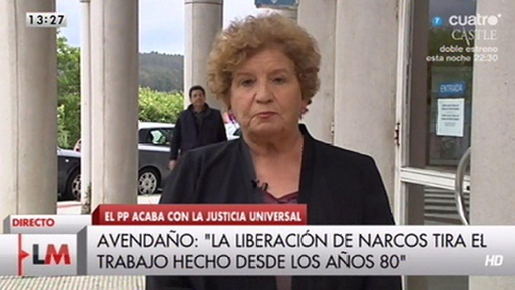 """Carmen Avedaño: """"El ministro de Justicia debe atacar a los causantes de esto"""""""