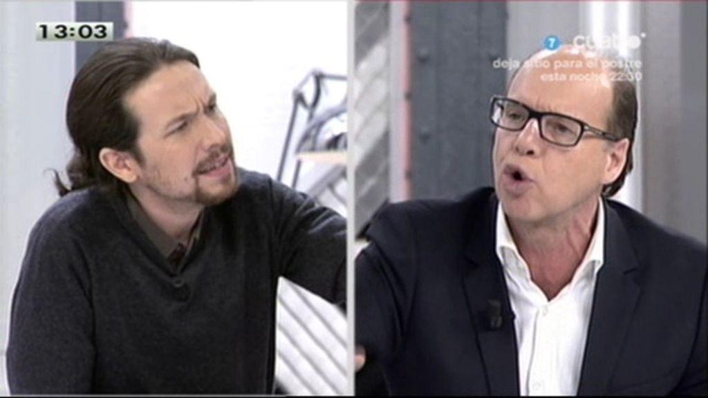 "Jaime González, a Pablo Iglesias: ""No acepto que llames héroes a los vándalos de Burgos"""
