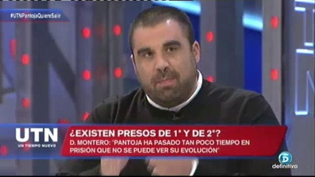 """Montero: """"Los presos no son iguales cuando Pantoja no está ni registrada con foto"""""""