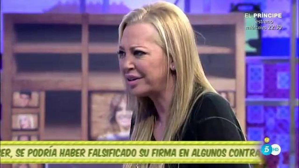 """Belén Esteban: """"No soy una desgraciada, soy una mujer muy afortunada"""""""