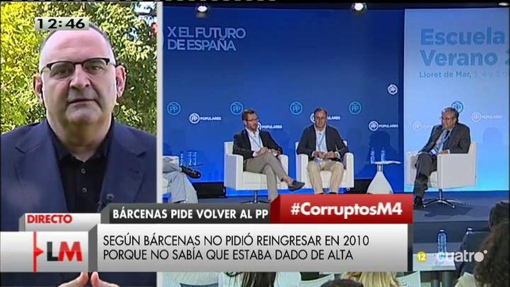 """Antón Losada: """"La corrupción del PP da para una saga titulada 'El señor de los sobres"""""""