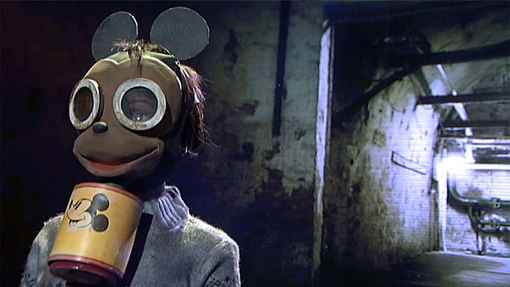 Las máscaras contra el horror de la Segunda Guerra Mundial