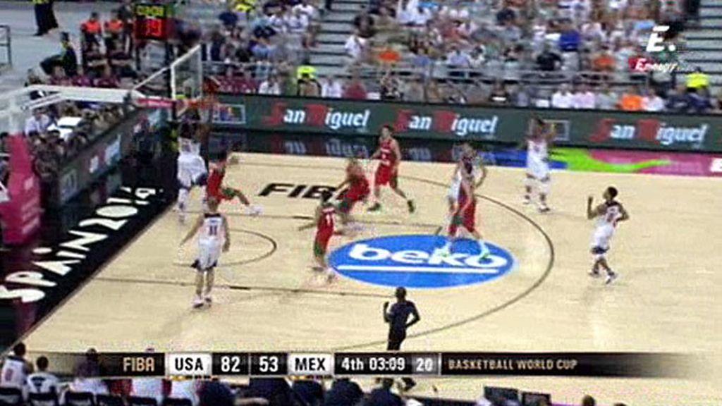 ¡Showtime de la mano del Team USA!: Alley-oop de Thompson para Drummond