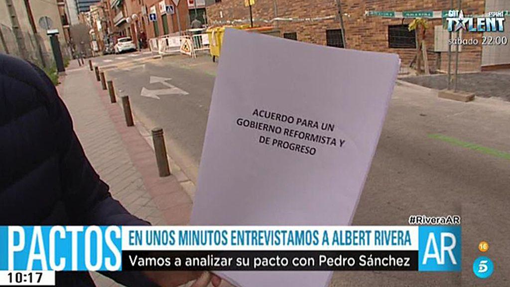 En el pacto entre PSOE y Ciudadanos se recoge un plan de emergencia social