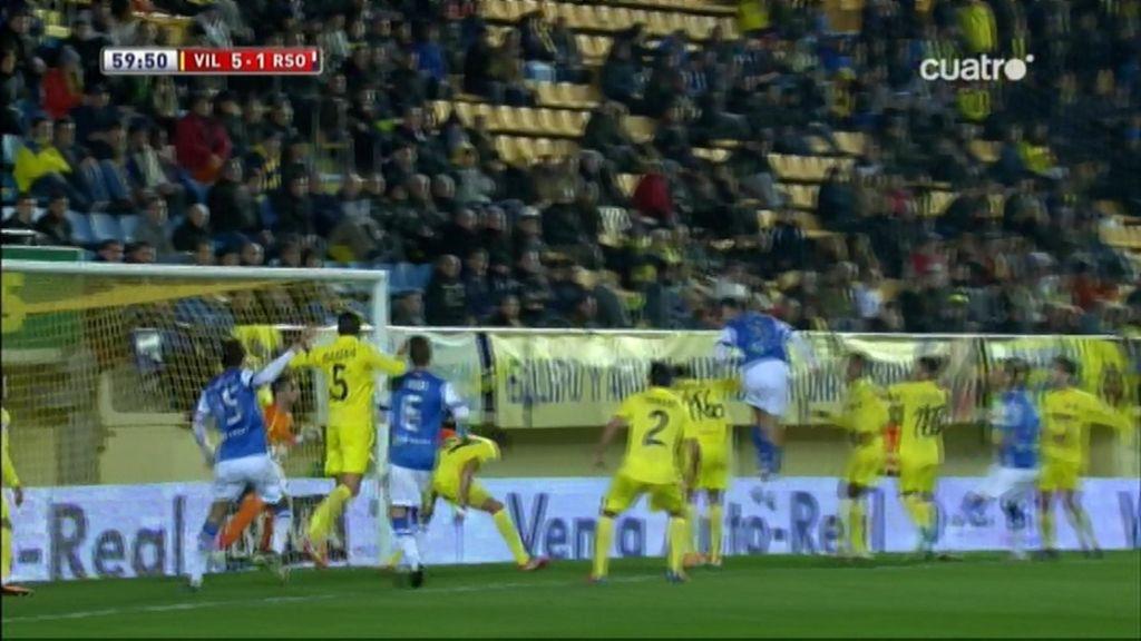 Gol de Aguirretxe (Villarreal 5-1 Real Sociedad)
