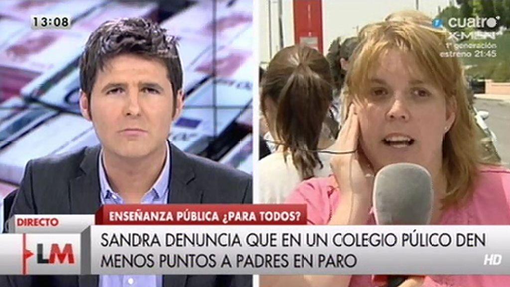 Un colegio de Navalcarnero (Madrid) da prioridad a padres con empleo