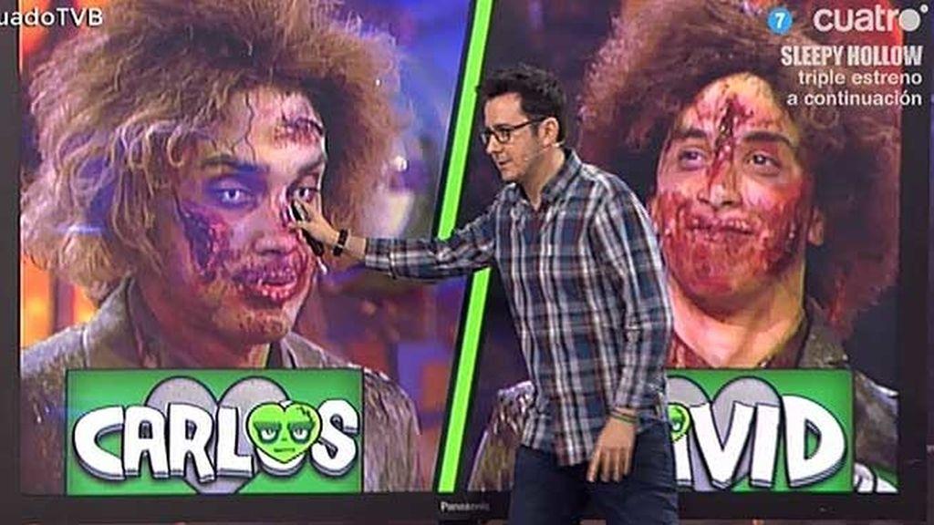 Edurne y Xavi Rodríguez la lían con los zombies de Serezade