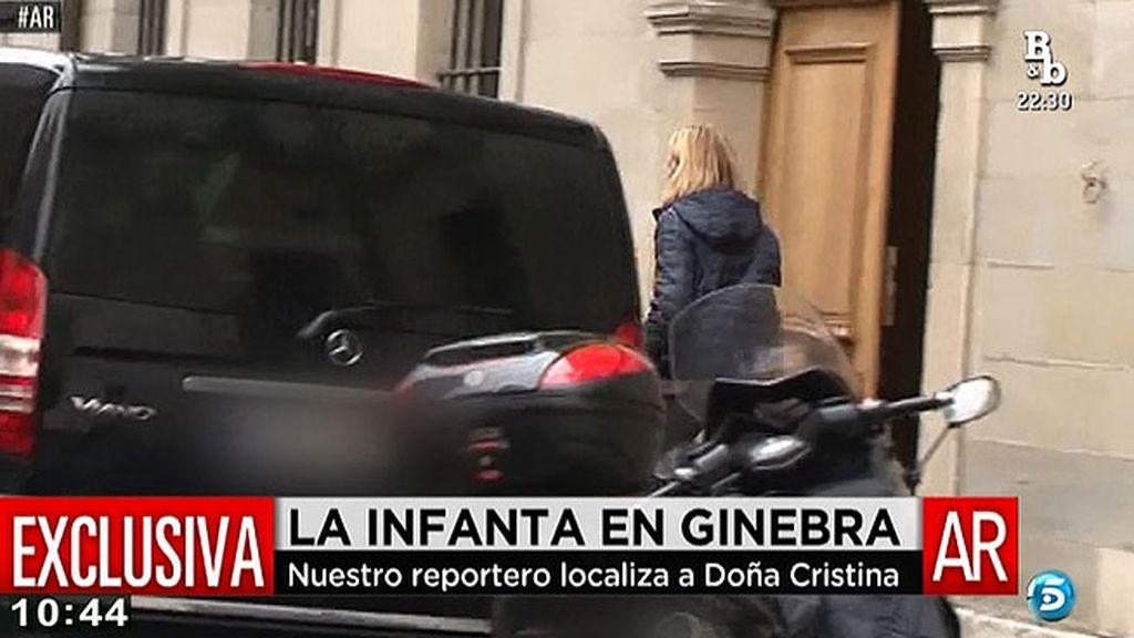 La Infanta Cristina continúa con su rutina a la espera de que el juez decida sobre su imputación