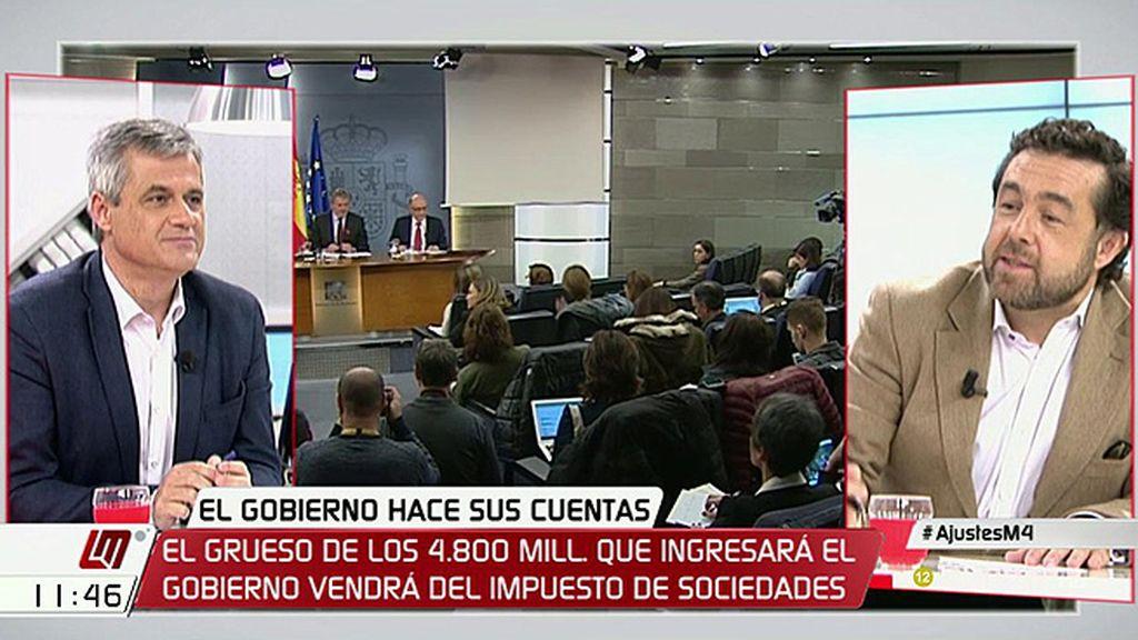 """Miguel Gutiérrez (Ciudadanos), al PSOE: """"Sé cómo se ha cocido la subida de impuestos y estabais de acuerdo"""""""