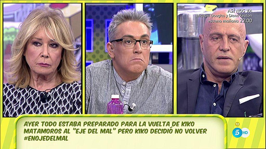 """El 'eje del mal' sigue roto: Kiko Hernández se siente """"dolido"""" con Matamoros"""