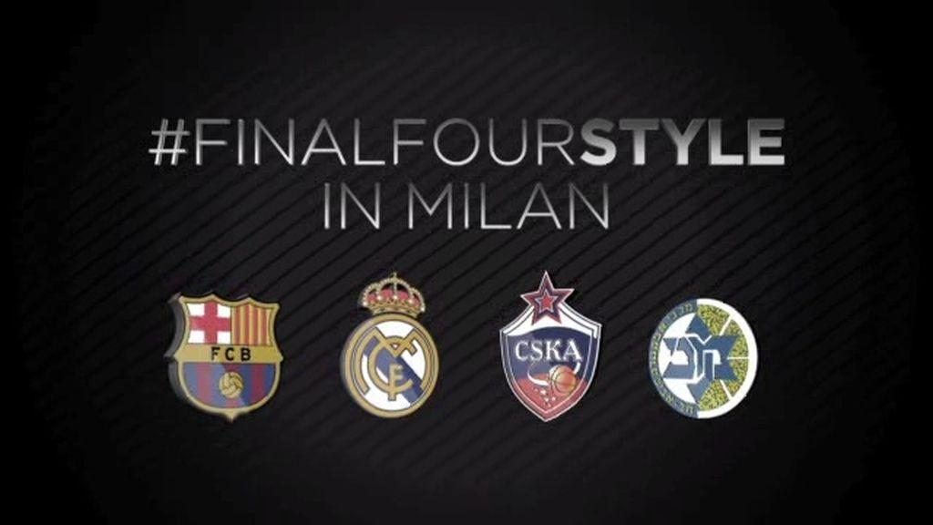 Maccabi, CSKA, Barcelona y Real Madrid rumbo a la Final Four de Milán