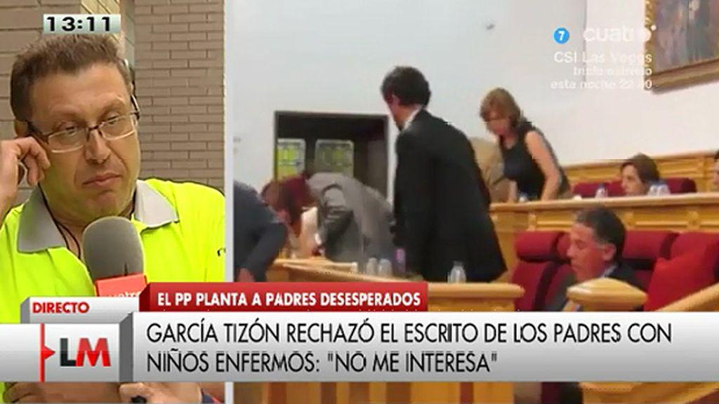"""Fernando, padre de una joven oncológica: """"Está fallando la ética personal"""""""