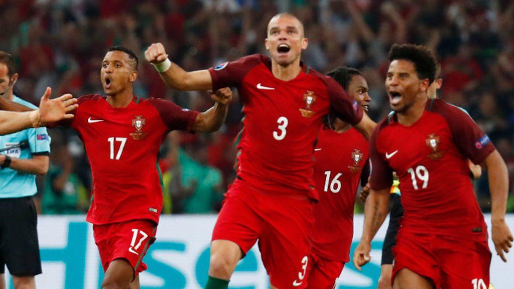 La tanda de penaltis que mete a Portugal en semifinales de la Eurocopa, completa