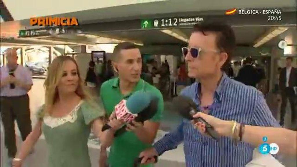 """Ortega Cano: """"José Fernando está con la idea de mejorar y eso esperamos"""""""