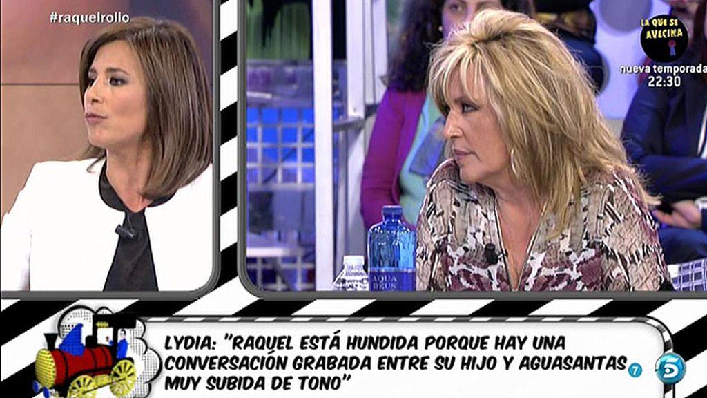 """Gema López: """"Raquel no es consciente de que nadie le haya podido grabar"""""""