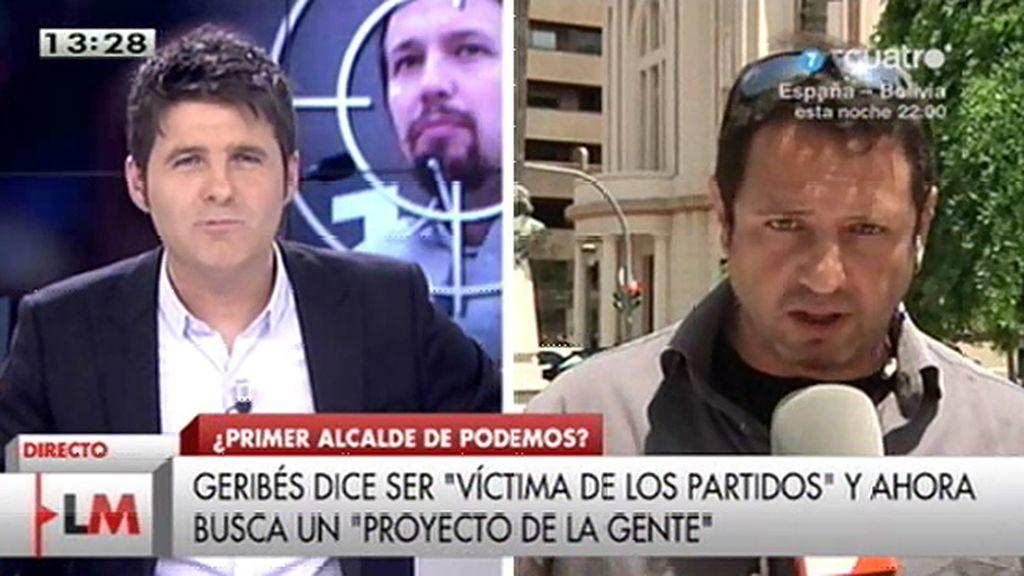 """El alcalde de Benicull: """"Me siento más cómodo con Podemos que con IU"""""""