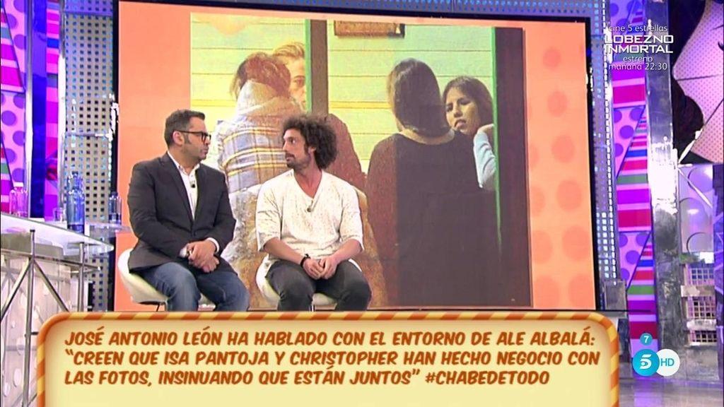 """J.A. León, sobre las fotos de Chabelita y Christopher: """"Ha sido un montaje"""""""