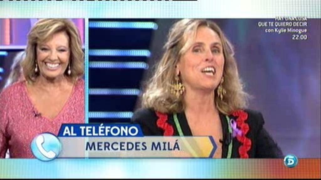 """Mercedes Milá, a María Teresa Campos: """"Me has puesto los cuernos"""""""