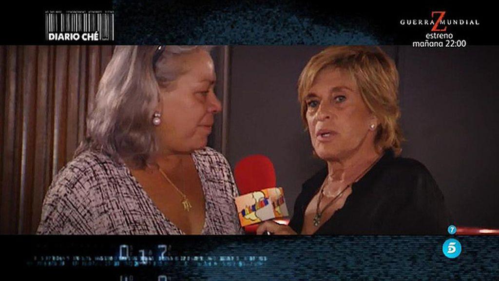 Gahona impide que Chelo Gª Cortés pregunte a Chiquetete por Raquel Bollo