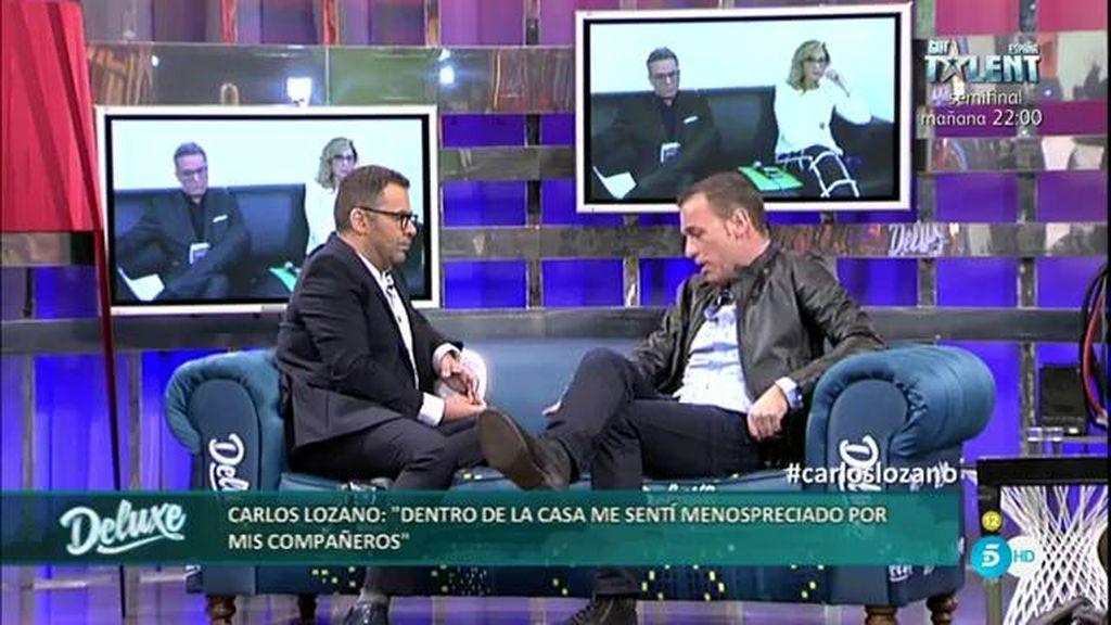 """Carlos Lozano: """"Dentro de GH VIP me sentí menospreciado por mis compañeros"""""""