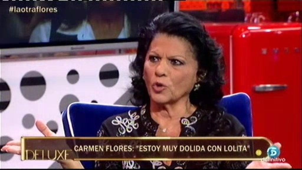 "C. Flores: ""Yo no he visto a Lolita drogada"""