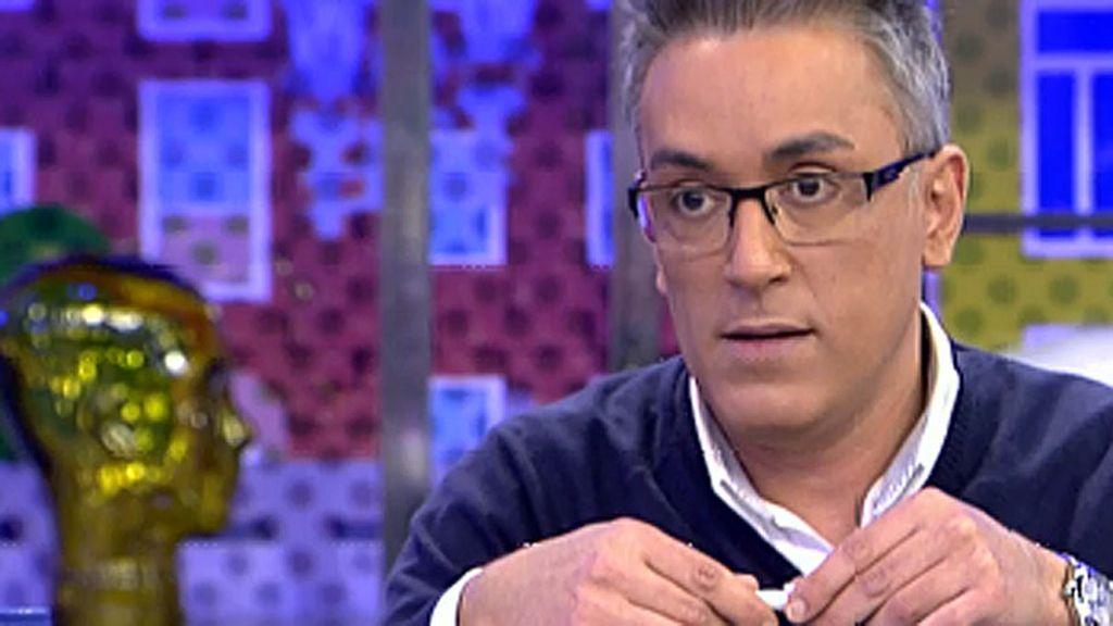 """Kiko Hernández: """"Estoy cansado de ser el malo con Rosa Benito"""""""
