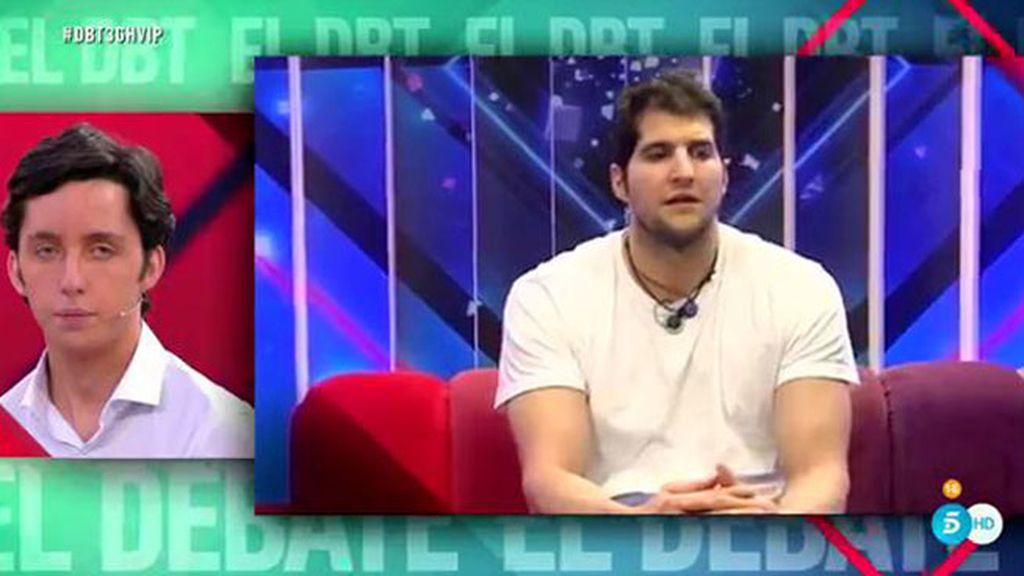 La reacción de los concursantes tras la expulsión de Francisco Nicolás