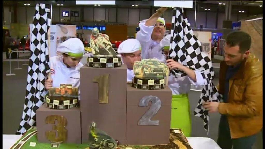 ¡Las tartas para el Madrid Motor Days!