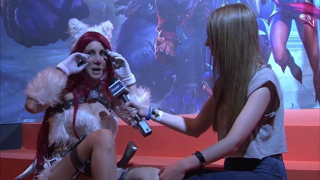 Saray nos presenta su cosplay de Kitty Katarina