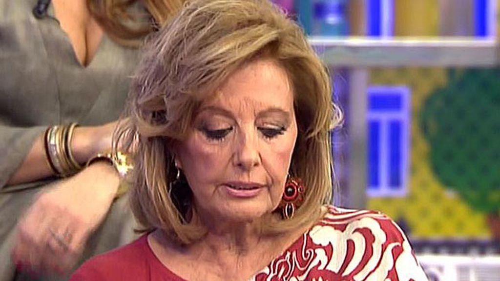 """María Teresa: """"Víctor Sandoval está arrepentido de haber hablado así de Belén"""""""