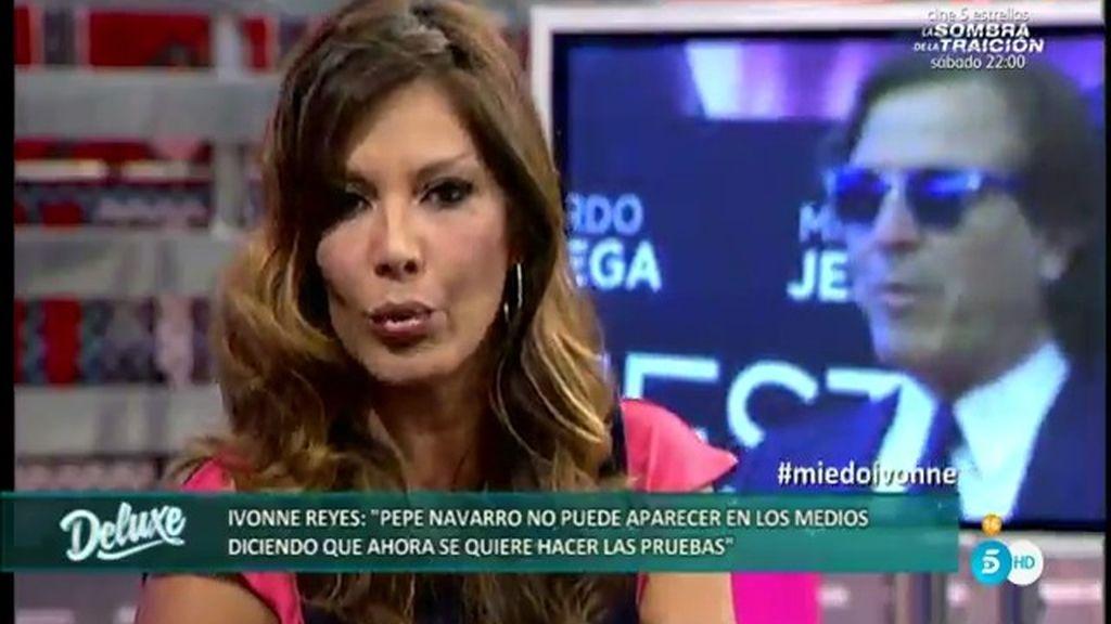 """Ivonne, a Pepe Navarro: """"No sabes contar bien. Tienes cinco hijos, no cuatro"""""""