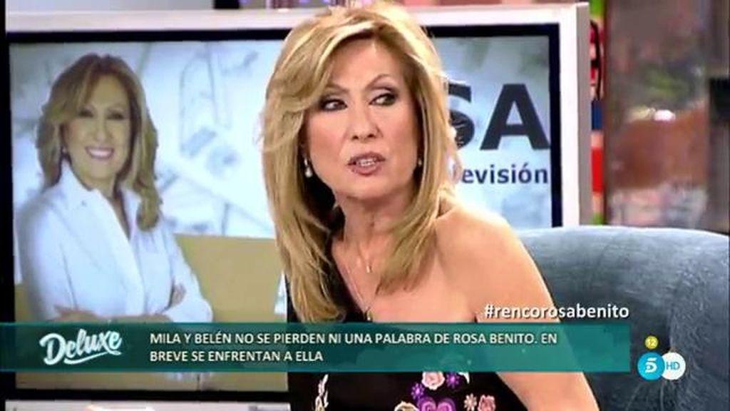 """Rosa Benito explica en el Deluxe a qué se refería con ser """"un mueble caro"""" en GH VIP"""