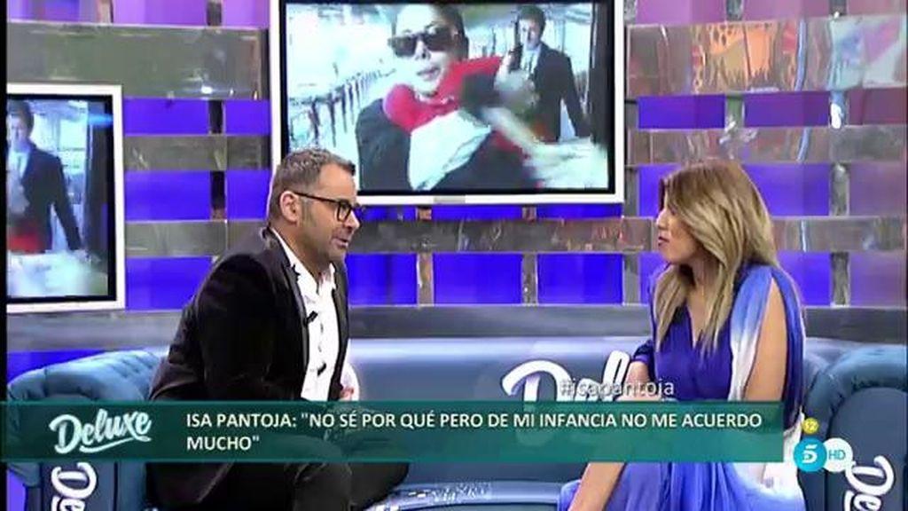 """La relación de Isa Pantoja con María del Monte: """"Me escapé para darle un abrazo"""""""