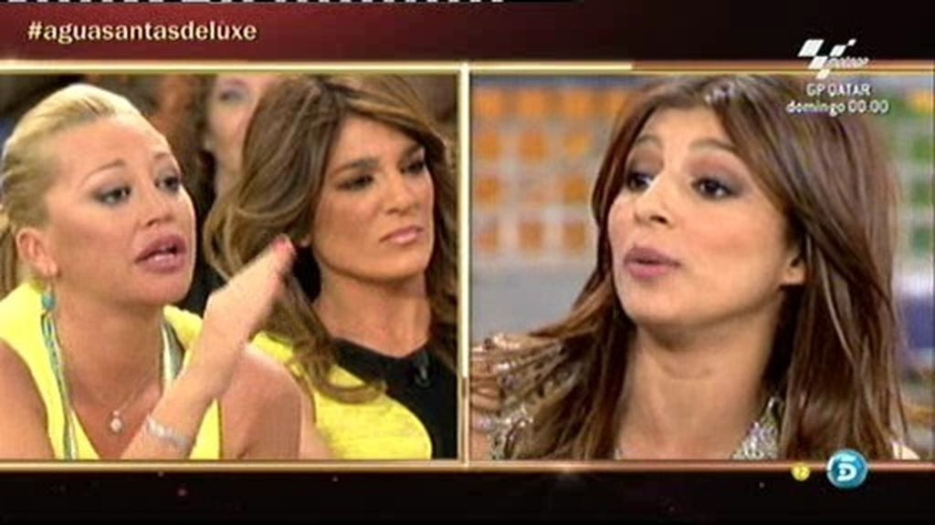 """Aguasantas: """"Raquel Bollo le debe dinero a Belén Esteban"""""""